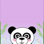 Printable Cards | Birthday | Free Printable Birthday Cards, Panda   Panda Bear Invitations Free Printable