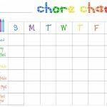 Printable Chore Charts Free   Acme Of Skill   Free Editable Printable Chore Charts
