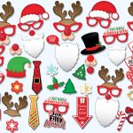 Printable Christmas Props For Pictures – Festival Collections   Free Printable Christmas Props