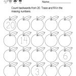 Printable Counting Worksheet   Free Kindergarten Math Worksheet For Kids   Free Printable Preschool Math Worksheets