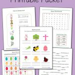 Printable Easter Worksheet Packet   Mamas Learning Corner   Free Printable Easter Sermons