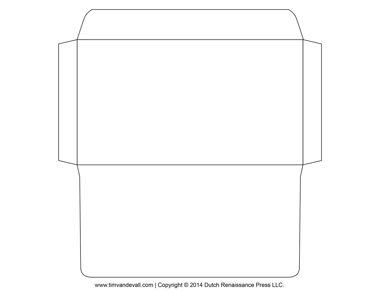 Printable Envelope Template | Occ Shoebox | Envelope Template - Free Printable Envelope Templates