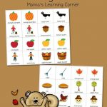 Printable Fall Match Game | Fall Crafts And Activities For Kids   Free Printable Toddler Matching Games