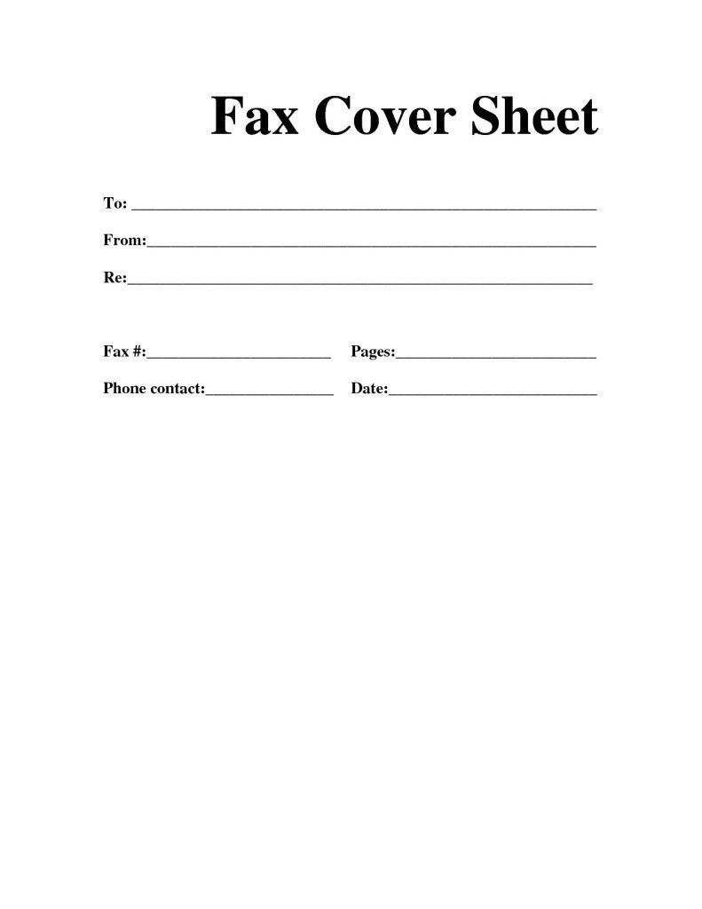 Printable Fax Cover Sheet | Get Here Printable Free Fax Cover Sheet - Free Printable Message Sheets