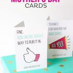 Printable Funny Mother's Day Cards | All Things Printable | Mothers   Free Printable Funny Mother's Day Cards