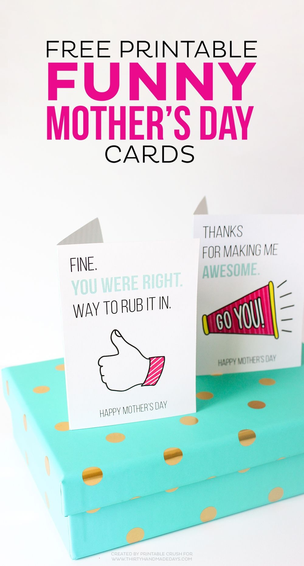 Printable Funny Mother's Day Cards | All Things Printable | Mothers - Free Printable Funny Mother's Day Cards