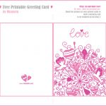 Printable Greeting Card | Xmasblor   Free Printable Love Greeting Cards
