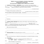 Printable Home Purchase Agreement | Free Printable Purchase   Free Printable Real Estate Purchase Agreement
