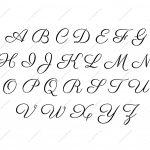 Printable Letter Templates Large Letter Te 9 Best Images Of   Free Printable Alphabet Stencils