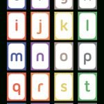 Printable Lowercase Letter Flash Cards   Free Printable Lower Case Letters Flashcards