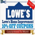 Printable Lowes Coupon 20% Off &10 Off Codes December 2016   Lowes Coupons 20 Free Printable