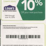 Printable Lowes Coupon 20% Off &10 Off Codes December 2016 | Stuff   Lowes Coupons 20 Free Printable