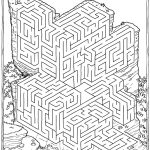 Printable Mazes For Adults For Brain Therapy And Practice | Dear   Free Printable Mazes