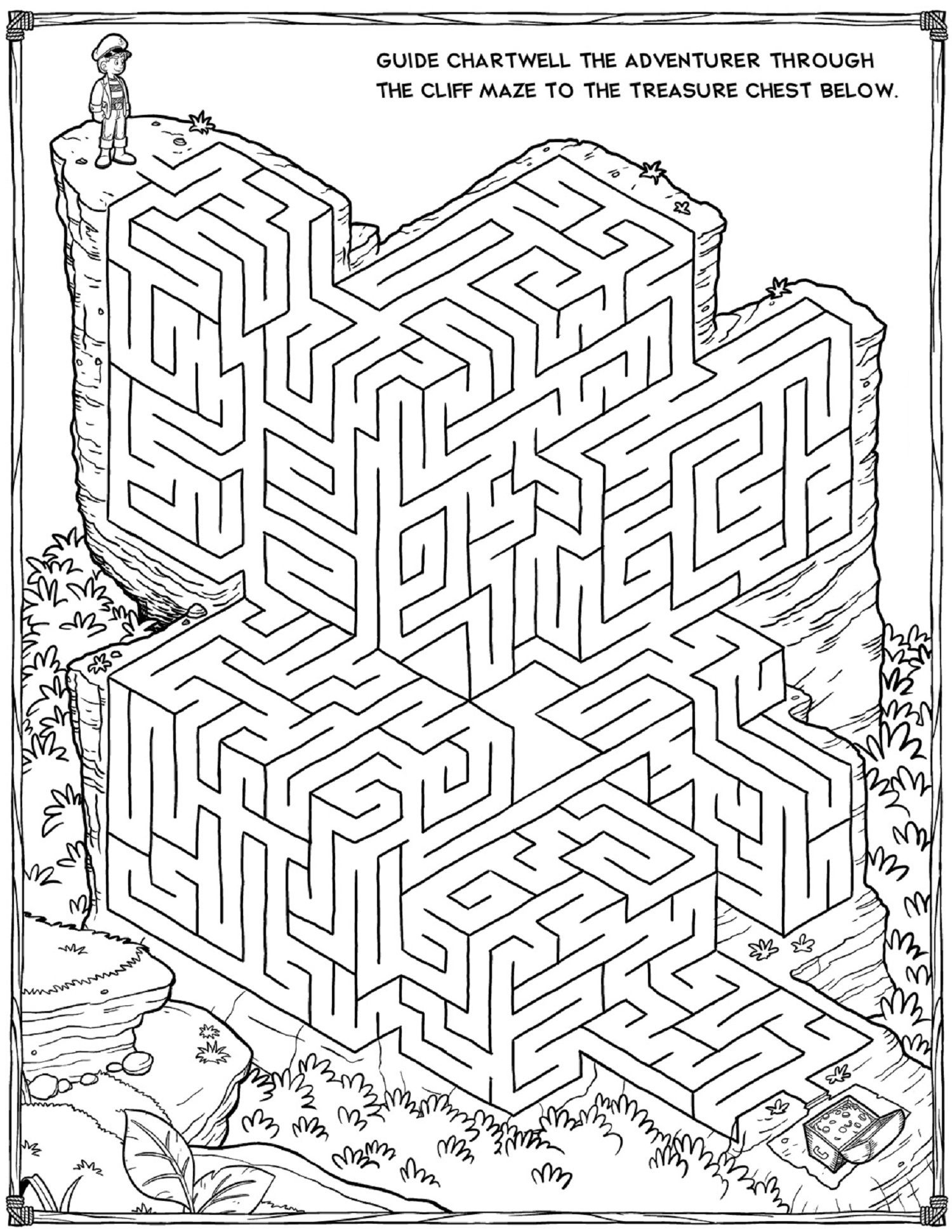 Printable Mazes For Adults For Brain Therapy And Practice | Dear - Free Printable Mazes