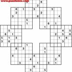 Printable Mega Sudoku Puzzles   Printable Sudoku Free   Free Printable Fill In Puzzles