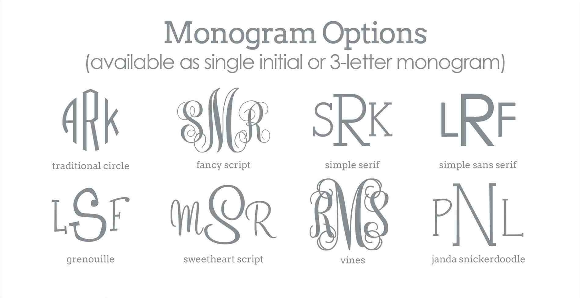 Printable Monogram Maker | World Of Label - Monogram Maker Online Free Printable