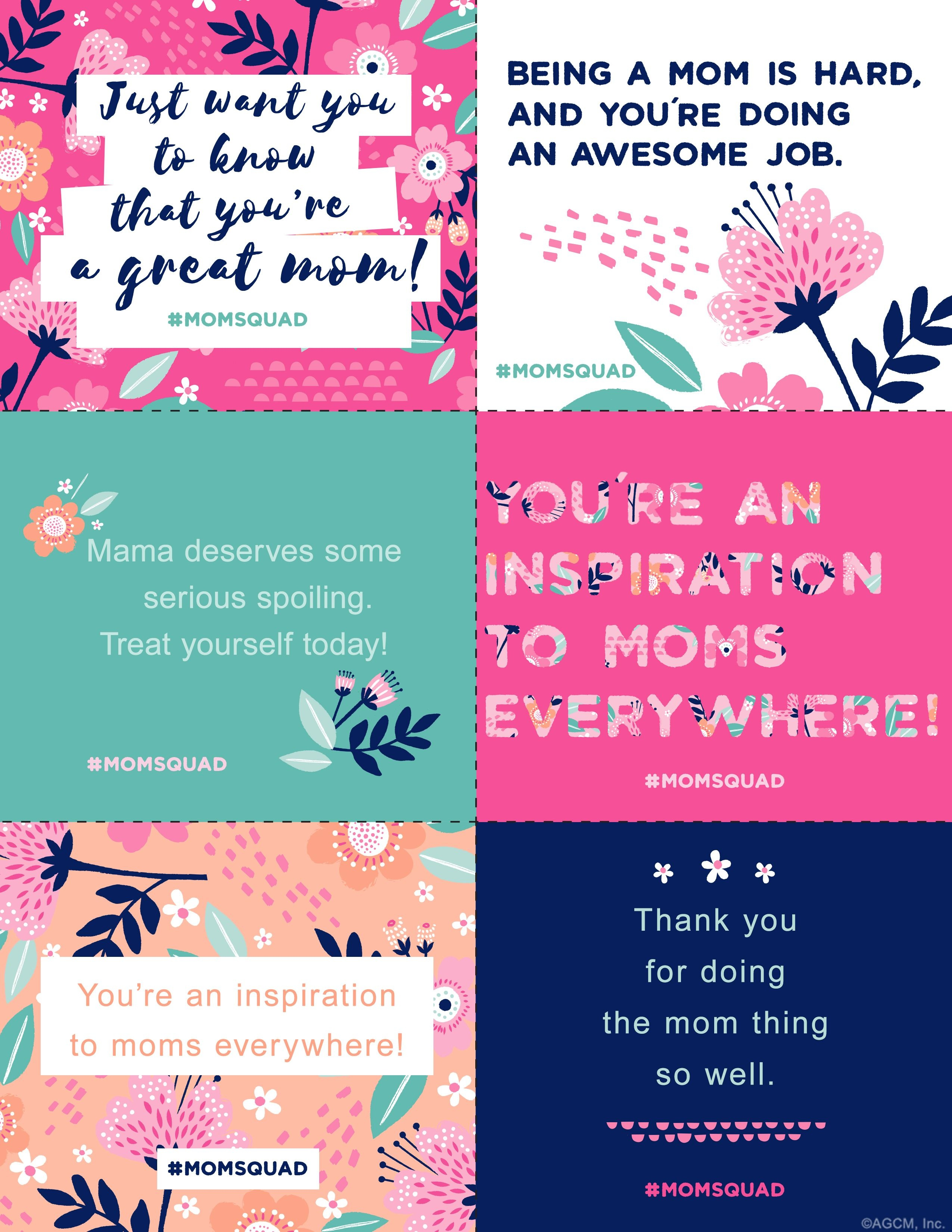 Printable Mother's Day Notes | Scrap Booking | Mothers Day Quotes - Free Printable Mothers Day Cards Blue Mountain