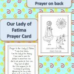 Printable Our Lady Of Fatima Prayer Cards | Catholic Printables   Free Printable Prayer Cards