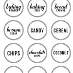 Printable Pantry Labels   Free Printable Pantry Labels