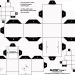 Printable Paper Crafts Templates Black And White | Chart And   Printable Paper Crafts Free