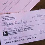 Printable Pretend Checks For Kids   Social Studies: Economics   Free Printable Play Checks