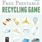 Printable Recycling Game | Free Printable Of The Day | Recycling   Free Printable Memory Exercises