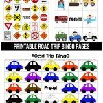 Printable Road Trip Bingo   Free Printable Car Bingo