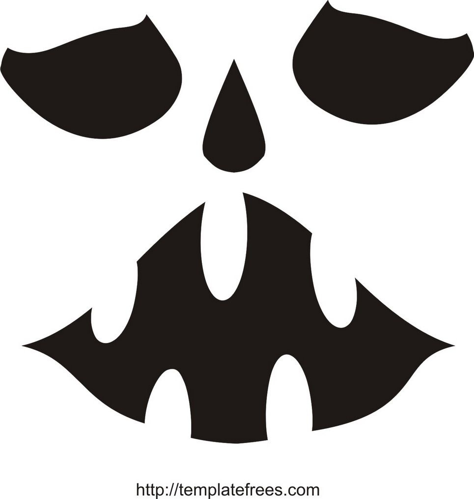 Printable Scary Pumpkin Carving Stencils | Free Printable Pumpkin - Free Printable Pumpkin Stencils