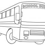 Printable School Bus Coloring Page For Kids   Cool2Bkids   Free Printable School Bus Template