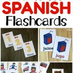 Printable Spanish Flashcards   Look! We're Learning!   Free Printable Spanish Verb Flashcards