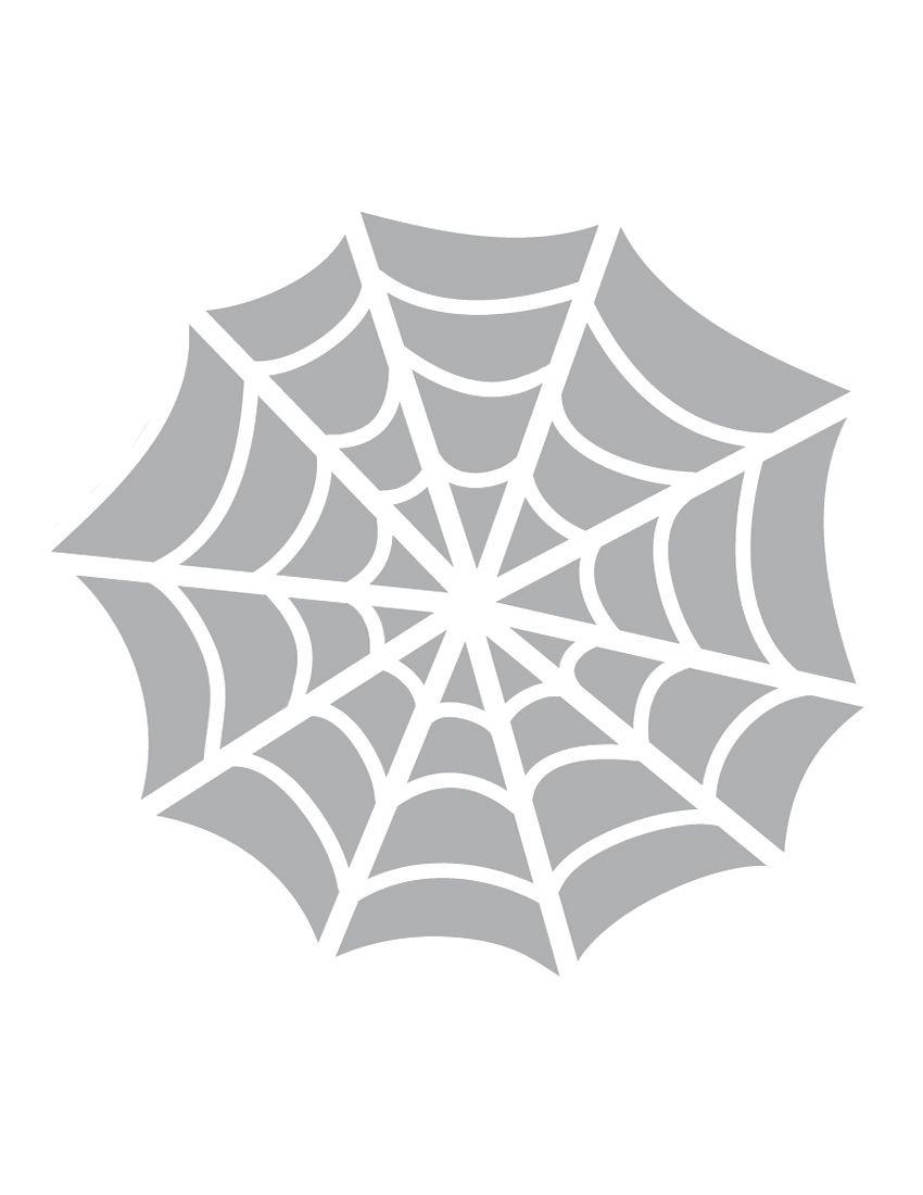 Printable Spider Web Stencil - Coolest Free Printables. This Stencil - Free Printable Cookie Stencils
