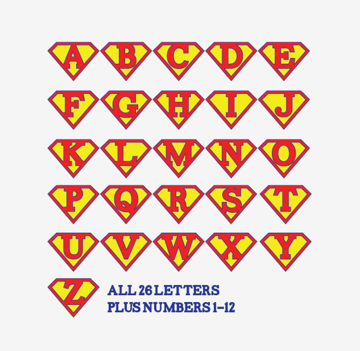 Printable Superman Birthday Banner For A Super Hero Birthday Party - Free Printable Disney Alphabet Letters