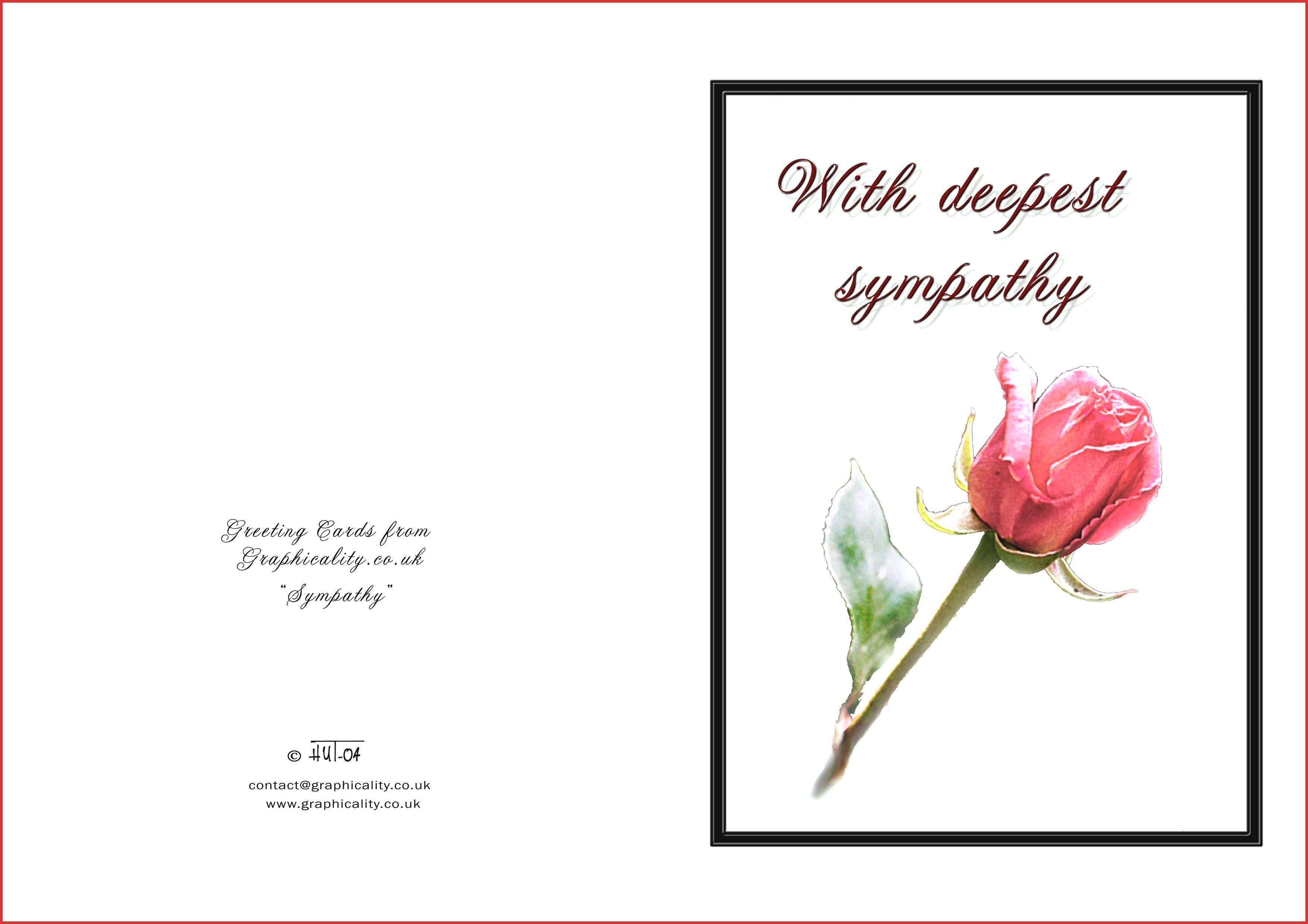 Printable Sympathy - Free Printable Sympathy Cards For Dogs
