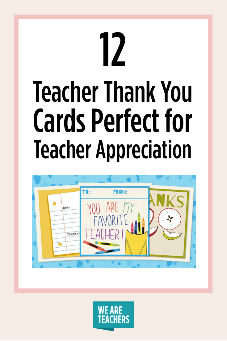Printable Teacher Thank You Cards For Teacher Appreciation - Free Printable Teacher Appreciation Cards To Color
