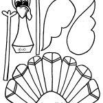 Printable Thanksgiving Turkey Templates – Happy Easter   Free Printable Thanksgiving Turkey Template