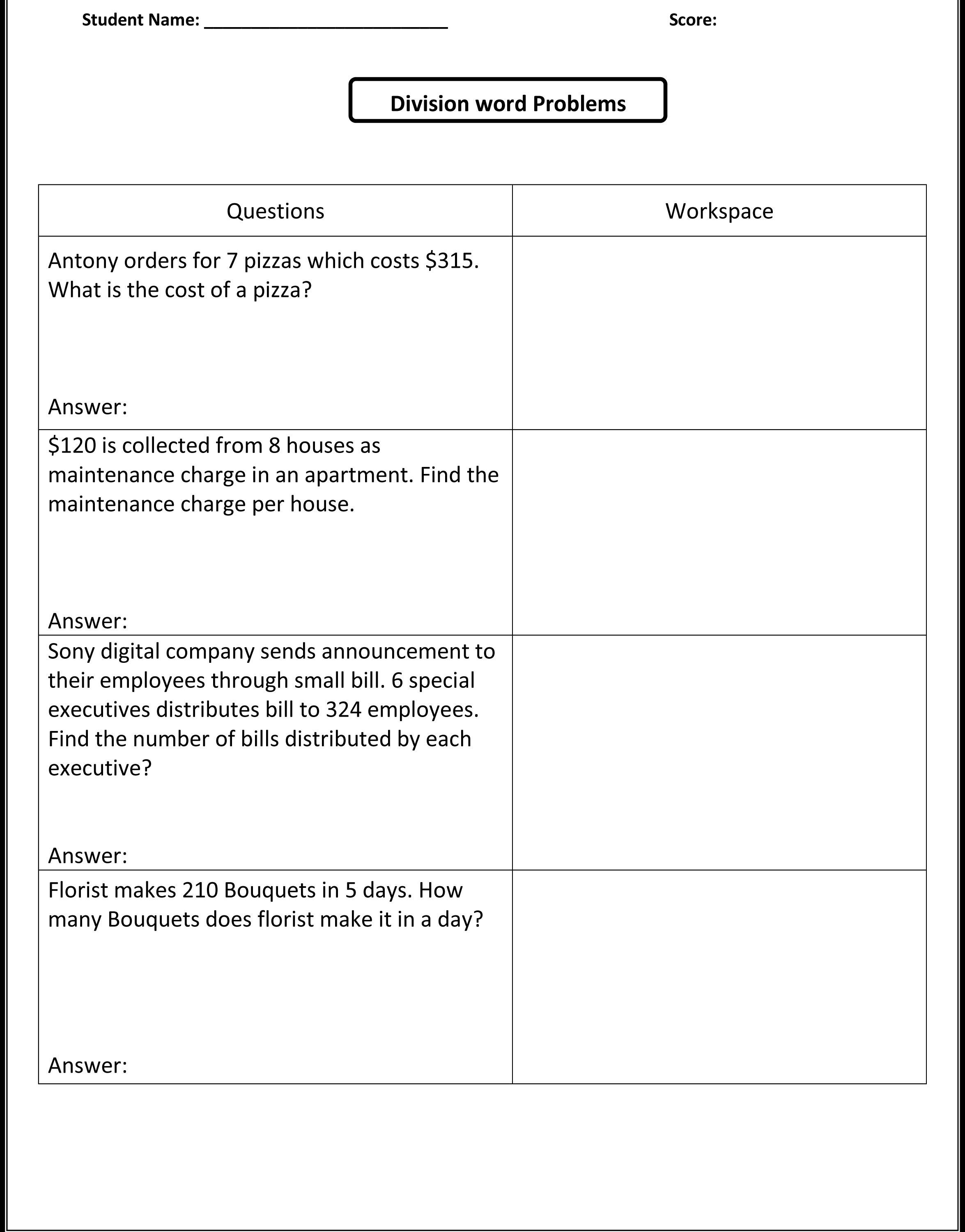 Printables Free Integer Word Problems Worksheet Integer Word - Free Printable Integer Worksheets Grade 7