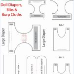 Protected: Doll Diapers, Bibs & Burp Cloths Templates (Mp) | Dolls   Cloth Diaper Pattern Free Printable