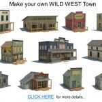Railroad Model Buildings   Series 1   Free Printable Model Railway Buildings