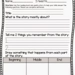 Reading Comprehension   Classroom Freebies!   First Grade Reading   Free Printable Story Books For Grade 2