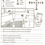 Reading Maps Worksheet Free Worksheets Library Download And   Social Studies Worksheets First Grade Free Printable