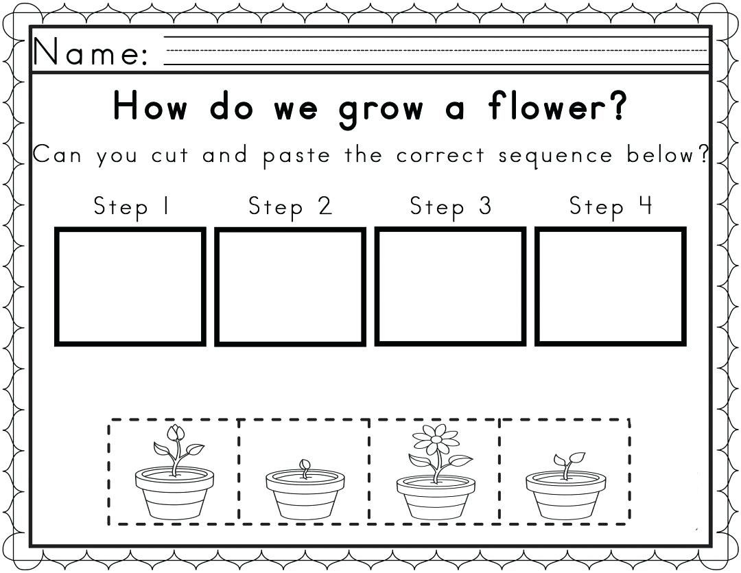 Reading Sequencing Worksheets Sequence With Pictures Worksheet Story - Free Printable Sequencing Worksheets For Kindergarten