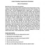 Reading Worksheets | Fourth Grade Reading Worksheets   Free Printable 4Th Grade Reading Worksheets