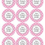 Ready To Pop Printable Labels Free | Baby Shower Ideas | Baby Shower   Free Printable Ready To Pop Labels