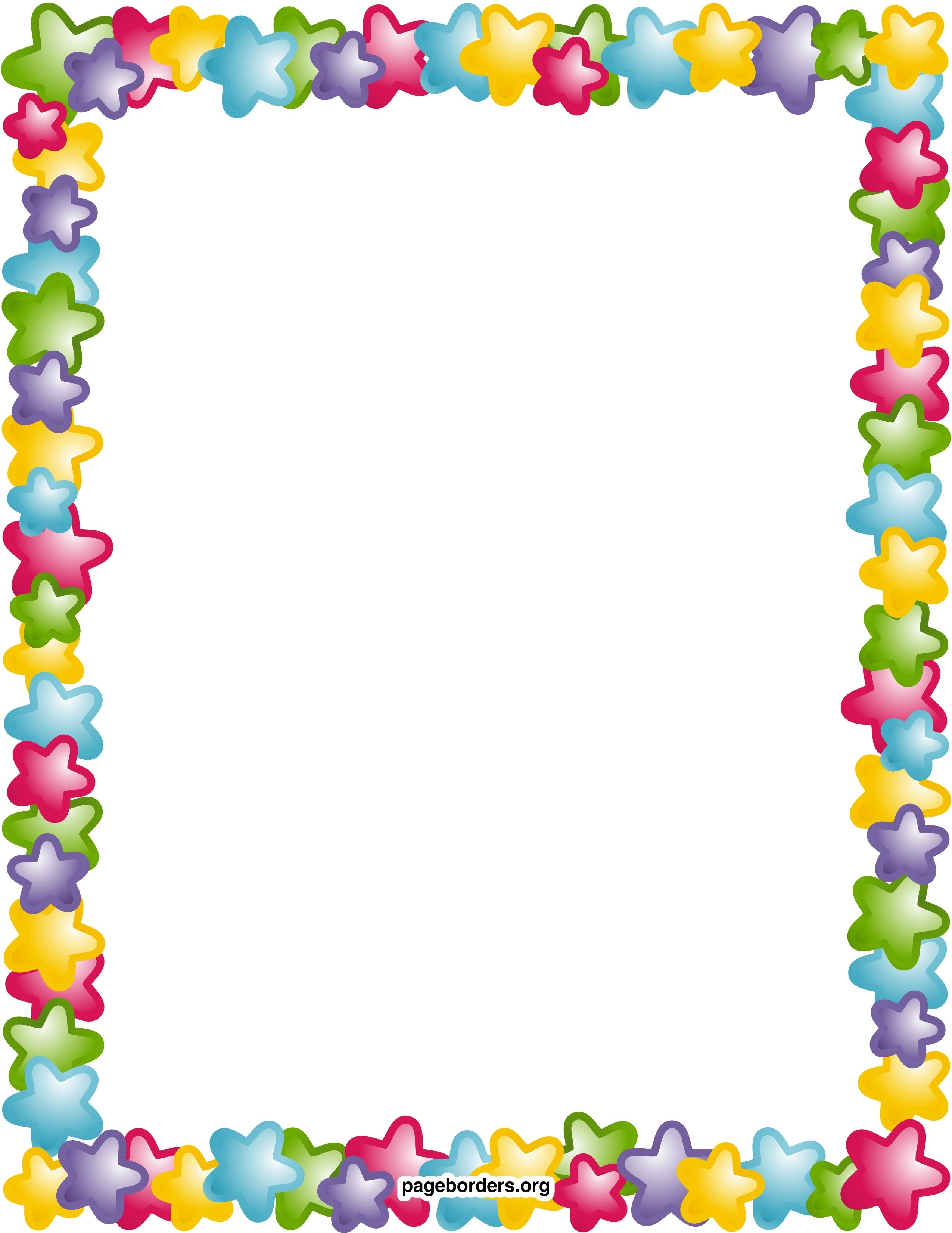 Remarkable Decoration Free Printable Borders And Frames Clip Art - Free Printable Clip Art Borders