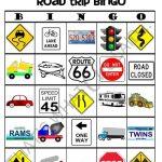 Road Trip Bingo Game Free Printable   That's What Che Said   Free Printable Car Bingo