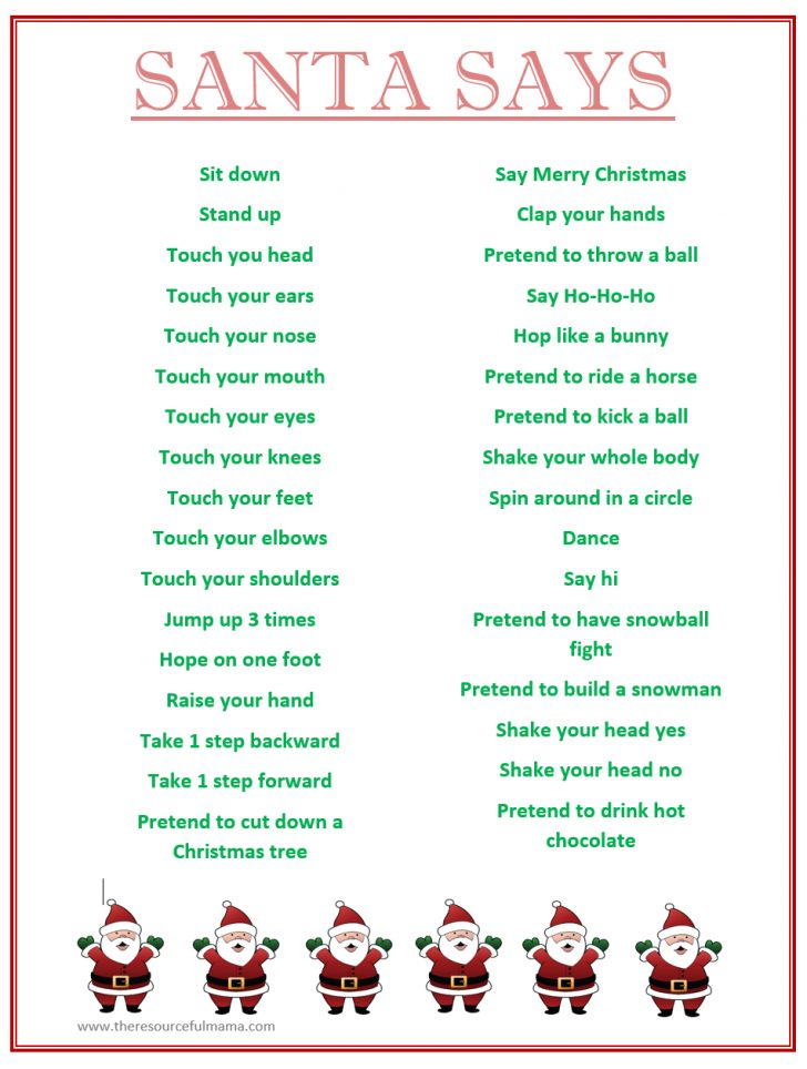 Holiday Office Party Games Free Printable