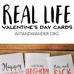 Sarcastic Valentine's Day Cards   Free Printables | Crafting Chicks   Free Valentine Printable Cards For Husband
