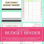 Save Money, Use Our Free Budget Binder!   Free Printable Budget Binder