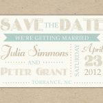 Save The Date Invitation Templates Free   Kaza.psstech.co   Free Printable Save The Date Invitation Templates