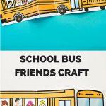 School Bus Of Friends Free Printable   Έναρξη Σχολικής Χρονιας   Free Printable School Bus Template